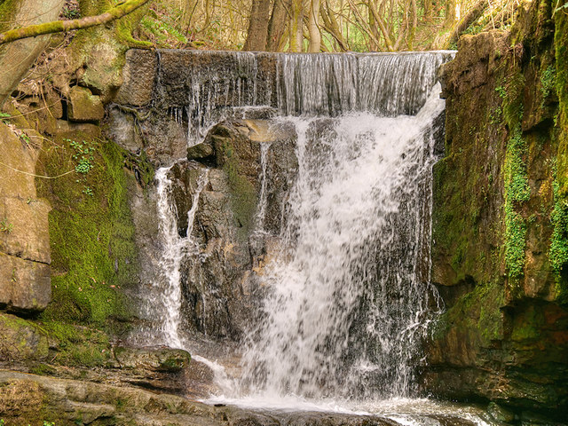 Waterfall at Plunge Mill