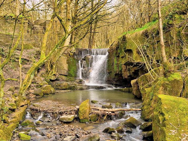 Waterfall on Dearden Brook