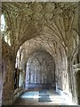 SO8318 : Fan vaulting, Gloucester Cathedral by Philip Halling