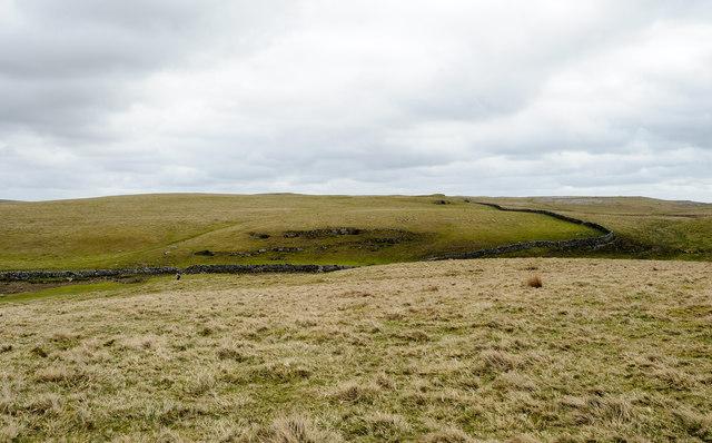 Extensive grazing land south of Malham Tarn