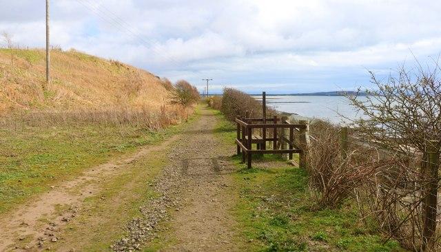 Fife Coastal Path, Lower Largo by Bill Kasman