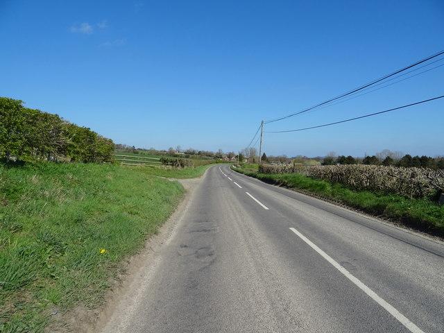 B4378 towards Much Wenlock