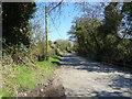 SO5893 : Minor road towards Weston by JThomas