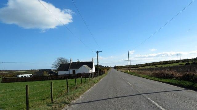 B979 past Allochie Croft