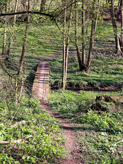 Footpath to Great Moor in Staffordshire
