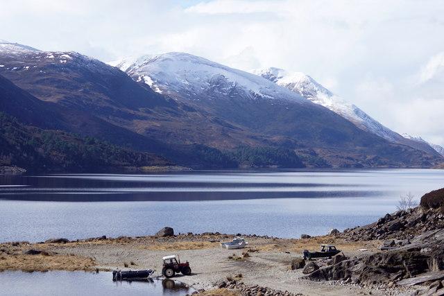 Loch Mullardoch from near the dam