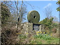 SK2890 : Peak District National Park boundary marker  by Graham Hogg