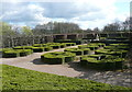 SE3532 : Topiary on the south side of Temple Newsam House, Leeds by Humphrey Bolton