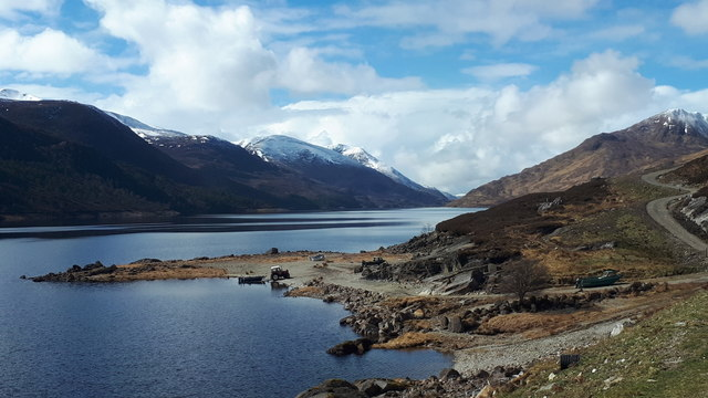 Loch Mullardoch from the dam