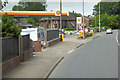 SY0082 : Shell Filling Station on Exeter Road by David Dixon