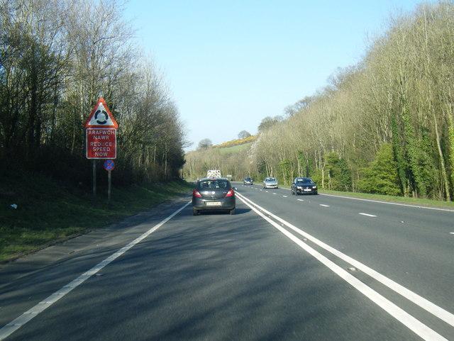 A487 Y Felinheli Bypass