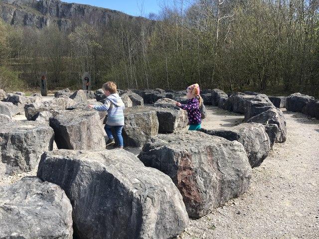 Fun among the stones