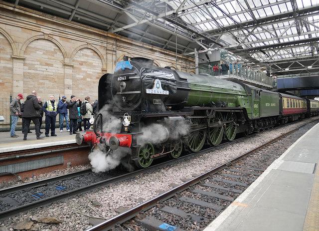 60163 Tornado, Edinburgh Waverley