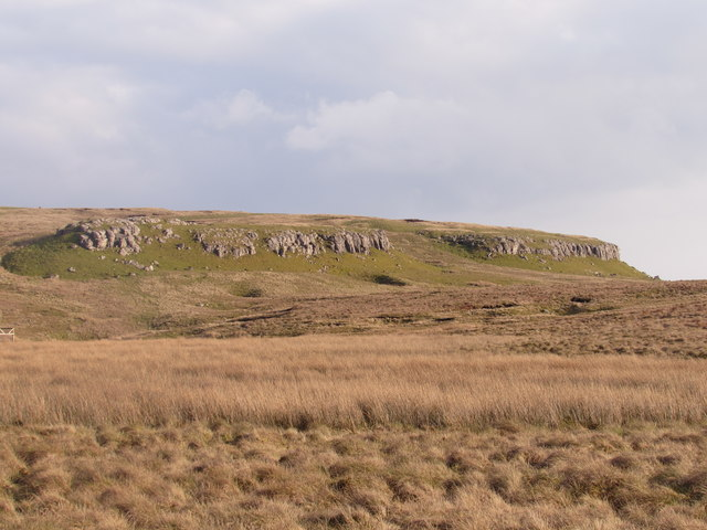 Middle Limestone Crags at Bycliffe