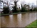 ST2897 : Canalside path, Five Locks Moorings, Cwmbran by Jaggery