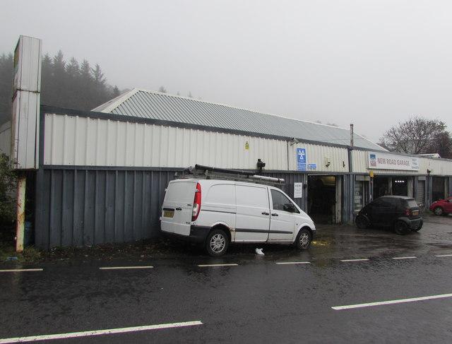 New Road Garage in Treherbert