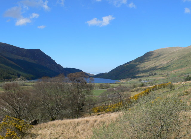 View towards Llyn Cwellyn