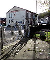 SS9991 : Penny-farthing depictions, Penygraig by Jaggery
