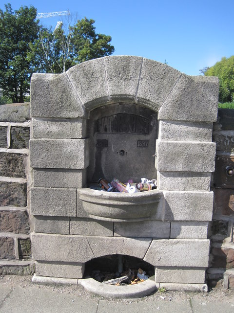 Knotty Ash Drinking Fountain