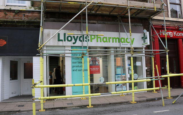 Lloyds Pharmacy, Stranraer