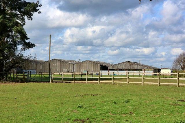 Barns by Shottenden Lane