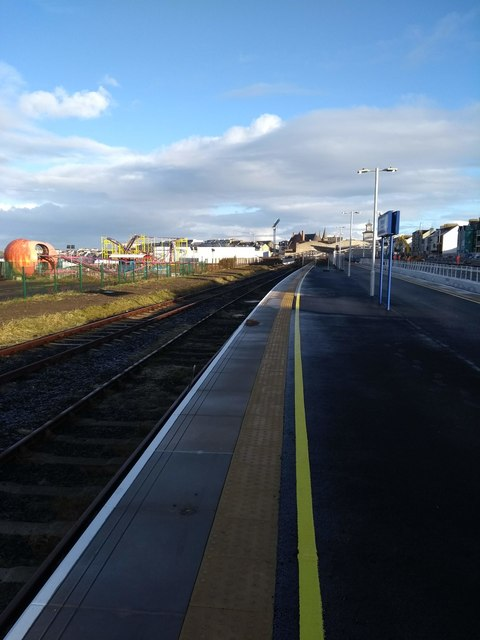 Platform 1 Portrush Station