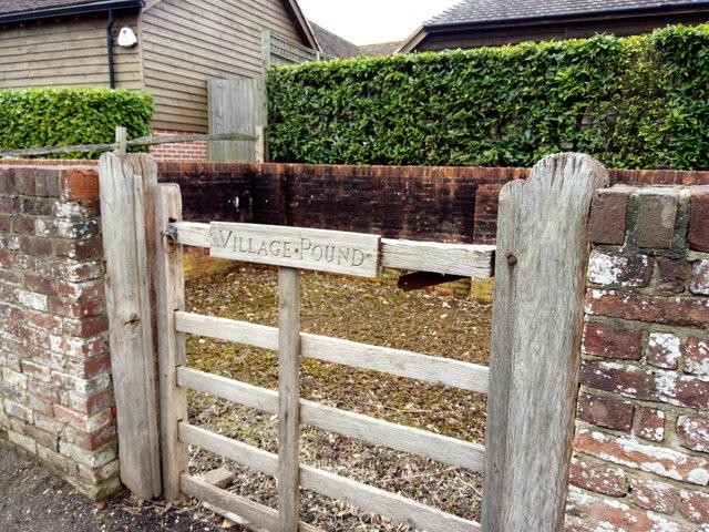 West Clandon Village Pound