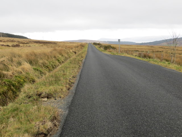 Road (B8001) between Redesdale and Gartavaich