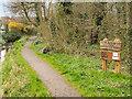 SJ4895 : Mill Brow Local Nature Reserve, Eccleston by David Dixon