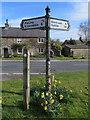 SD6170 : Fingerpost in Wennington by John S Turner
