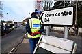 H4572 : Raynet control, Omagh Half Marathon and 5k Fun Run by Kenneth  Allen
