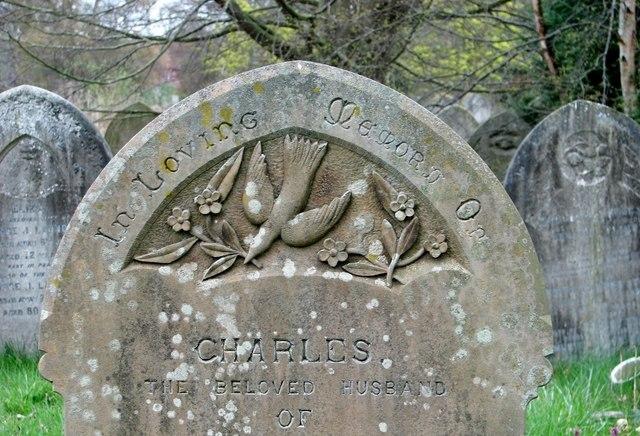 Gravestone symbolism (Dove)
