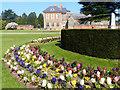 ST2885 : Spring flower beds, Tredegar House Gardens by Robin Drayton
