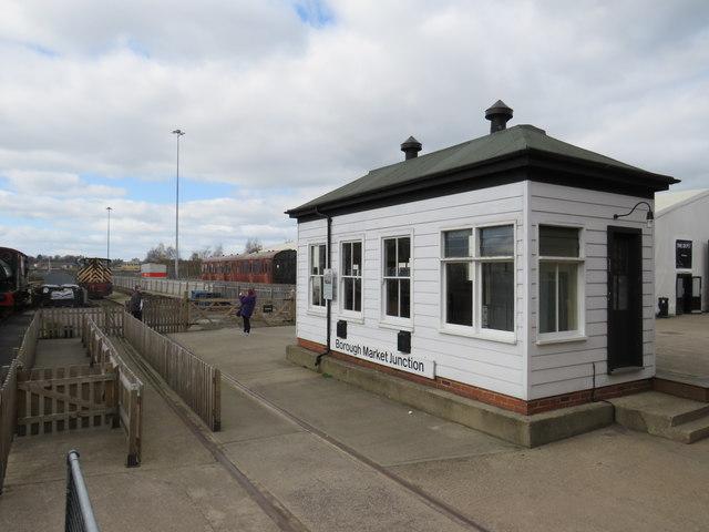 Signalbox at the National Railway Museum, York