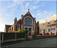 SD8203 : Heaton Park Methodist Church by Gerald England