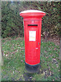 TM4699 : St. Olaves Post Office George VI Postbox by Adrian Cable