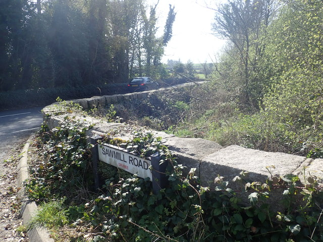Bailey's Bridge at the junction of Sawmill Road and Ballyhafry Road