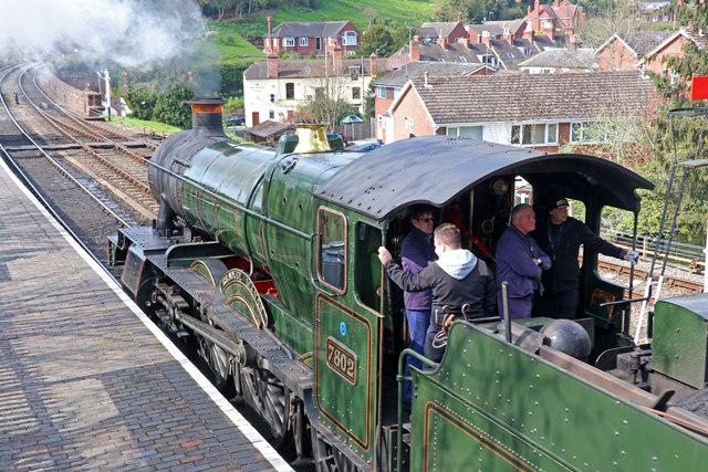 Severn Valley Railway - footplate experience