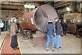 SO7192 : Severn Valley Railway - boiler shop by Chris Allen