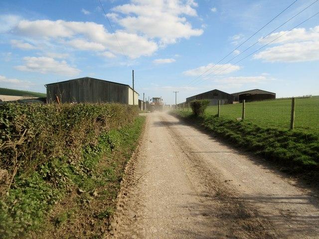 Farm buildings, Lychpole Farm