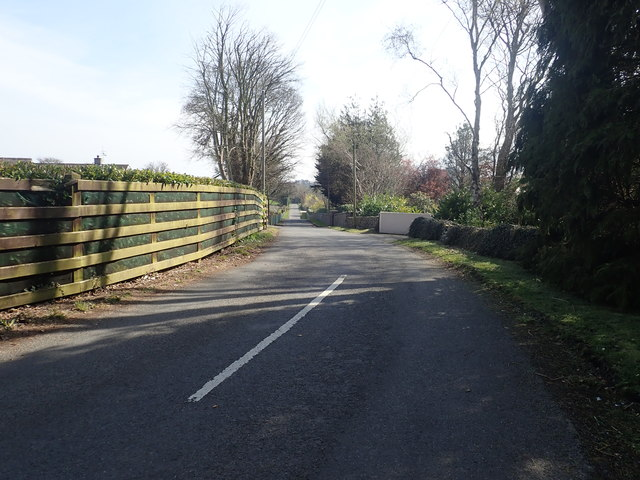The Northern end of Sawmill Road, Drumee TD