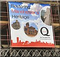SJ8497 : Restoring Manchester's Heritage by Gerald England