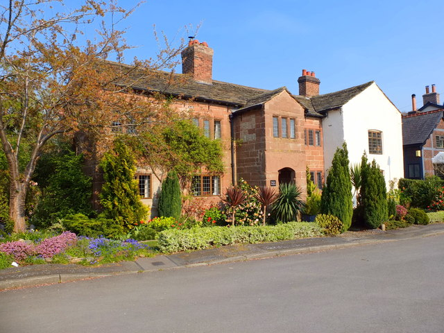 Thelwall Old Hall, Ferry Lane