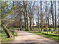 SJ5410 : Attingham Park footpath by Chris Gunns