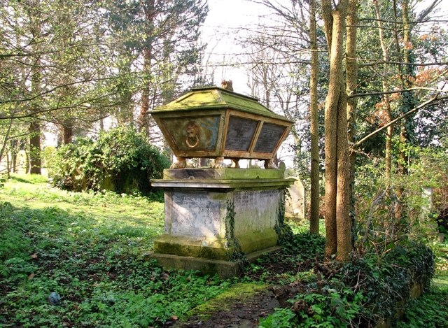 The Cozens Family monument