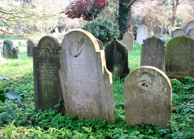 The grave of Henry Housego