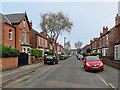 SK5837 : West Bridgford: along Epperstone Road by John Sutton