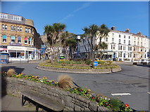 SH7882 : Roundabout in Llandudno by Richard Hoare
