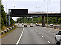 SO8648 : Bridge over the M5 near Kempsey by David Dixon