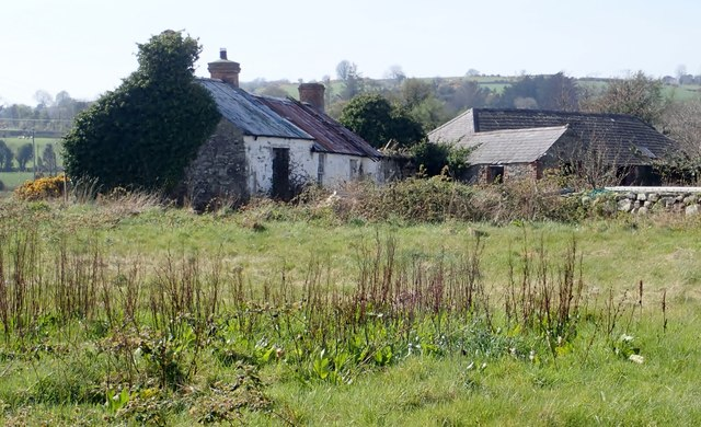 Derelict homestead on the West side of the A50 (Castlewellan Road)